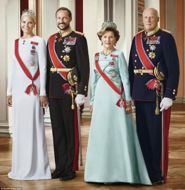 Absence des souverains norvégiens à Stockholm