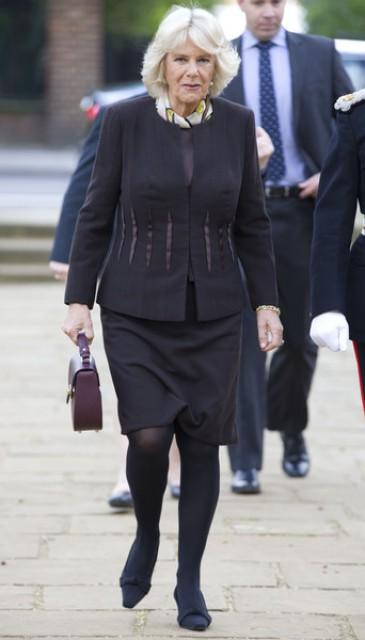 La duchesse de Cornouailles au Royal Voluntary service