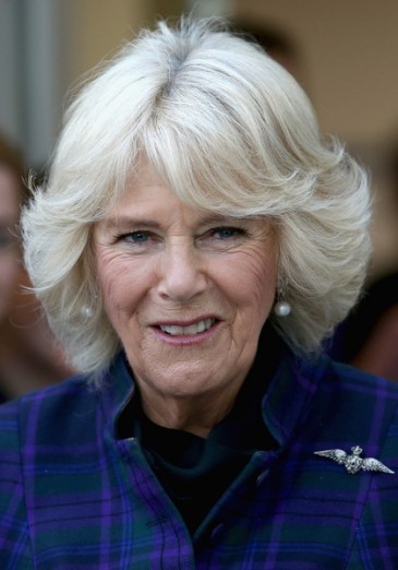 Camilla en visite à Hatfield