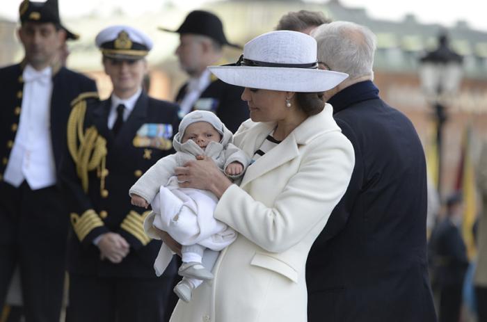 Diffusion du baptême du prince Oscar de Suède