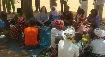 Mary de Danemark au Burkina Faso
