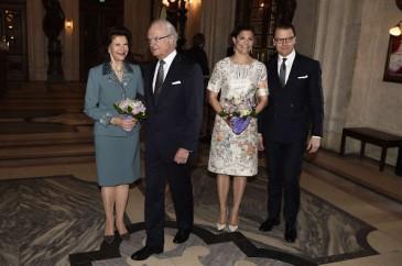 Réception à l'académie royale artistique à Stockholm