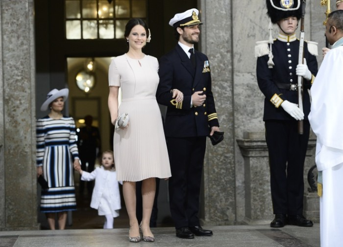 Sofia de Suède au te-deum pour les 70 ans du roi Carl Gustav