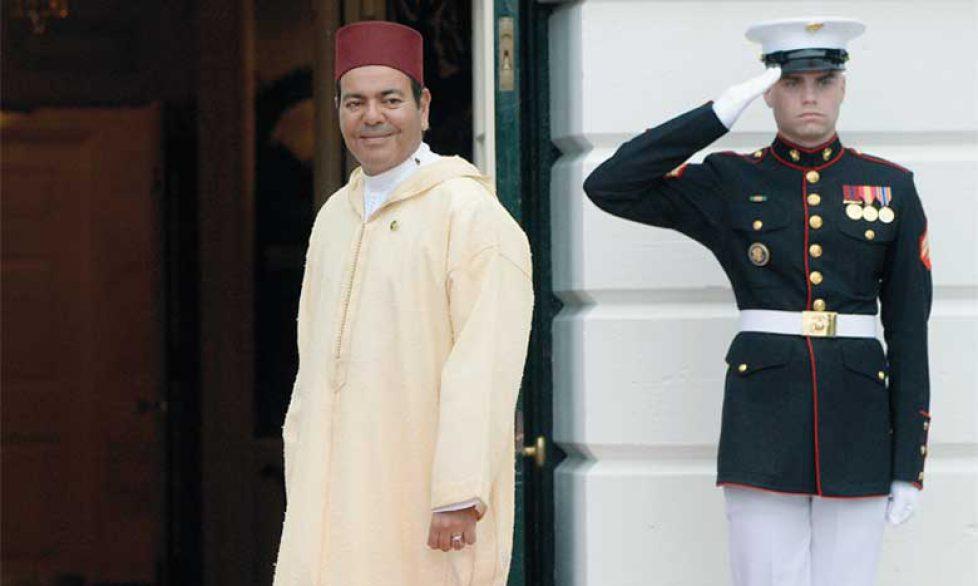 Moulay Rachid du Maroc à la Maison Blanche