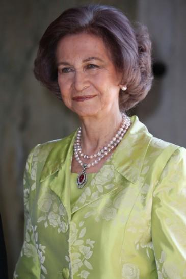 Le collier de Sophie d'Espagne