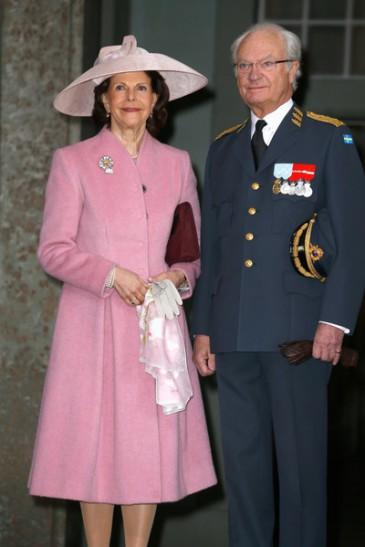 Te-deum pour les 70 ans du roi de Suède