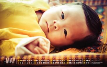Le petit prince héritier du Bhoutan