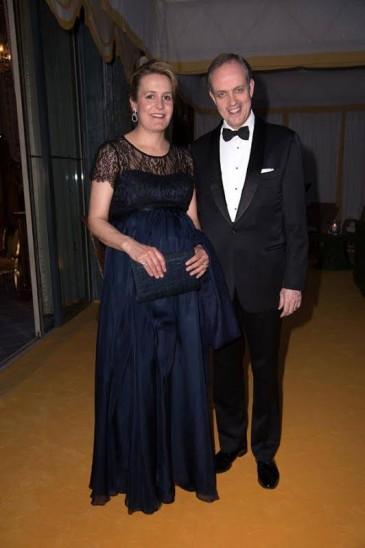Le duc et la duchesse de Vendôme : soirée à Monaco