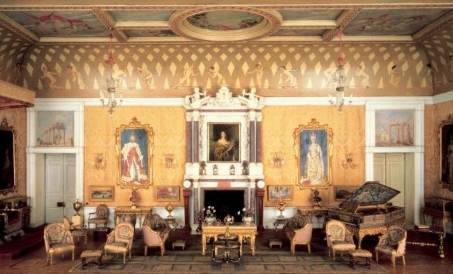 La maison de poup es de la reine mary noblesse royaut s - Lincroyable maison book tower londres ...