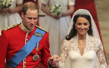 Noces de bois pour le duc et la duchesse de Cambridge