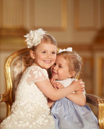 Estelle et Leonore de Suède : complicité entre cousines