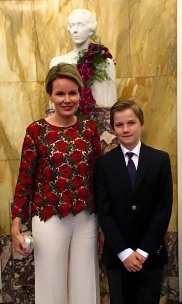 Gabriel de Belgique : soirée au concours international reine Elisabeth