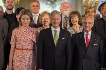 Concours reine Elisabeth : déjeuner au château de Laeken