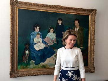 La reine Mathilde au musée La Boverie