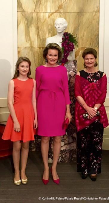 Proclamation des lauréats du concours reine Elisabeth 2016