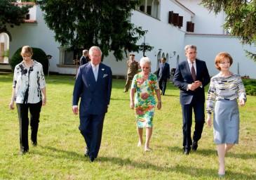 Le prince de Galles en Roumanie