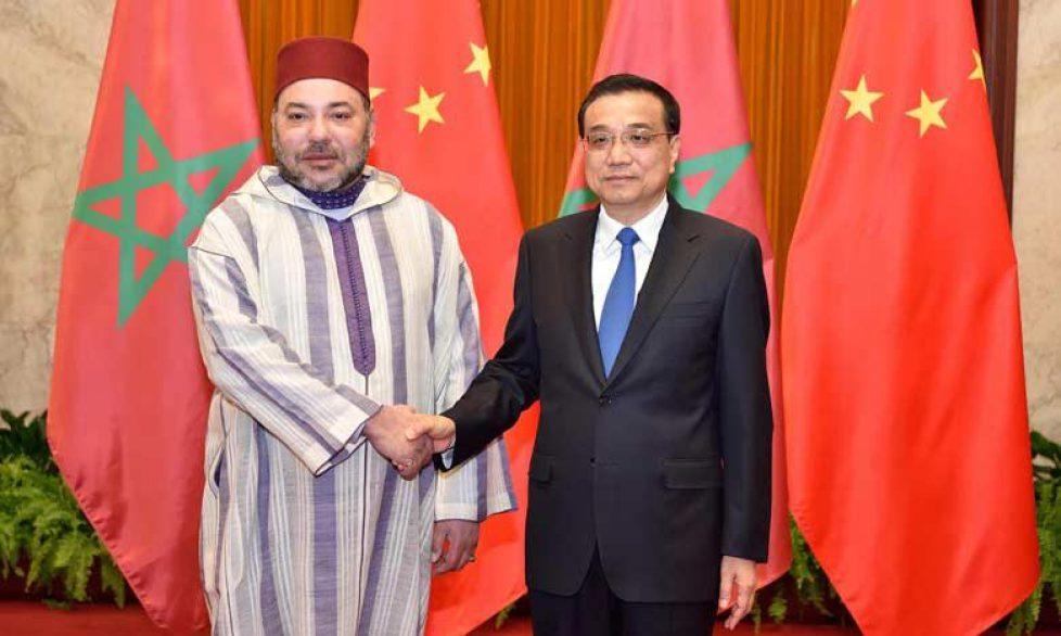 Le roi du Maroc en Chine