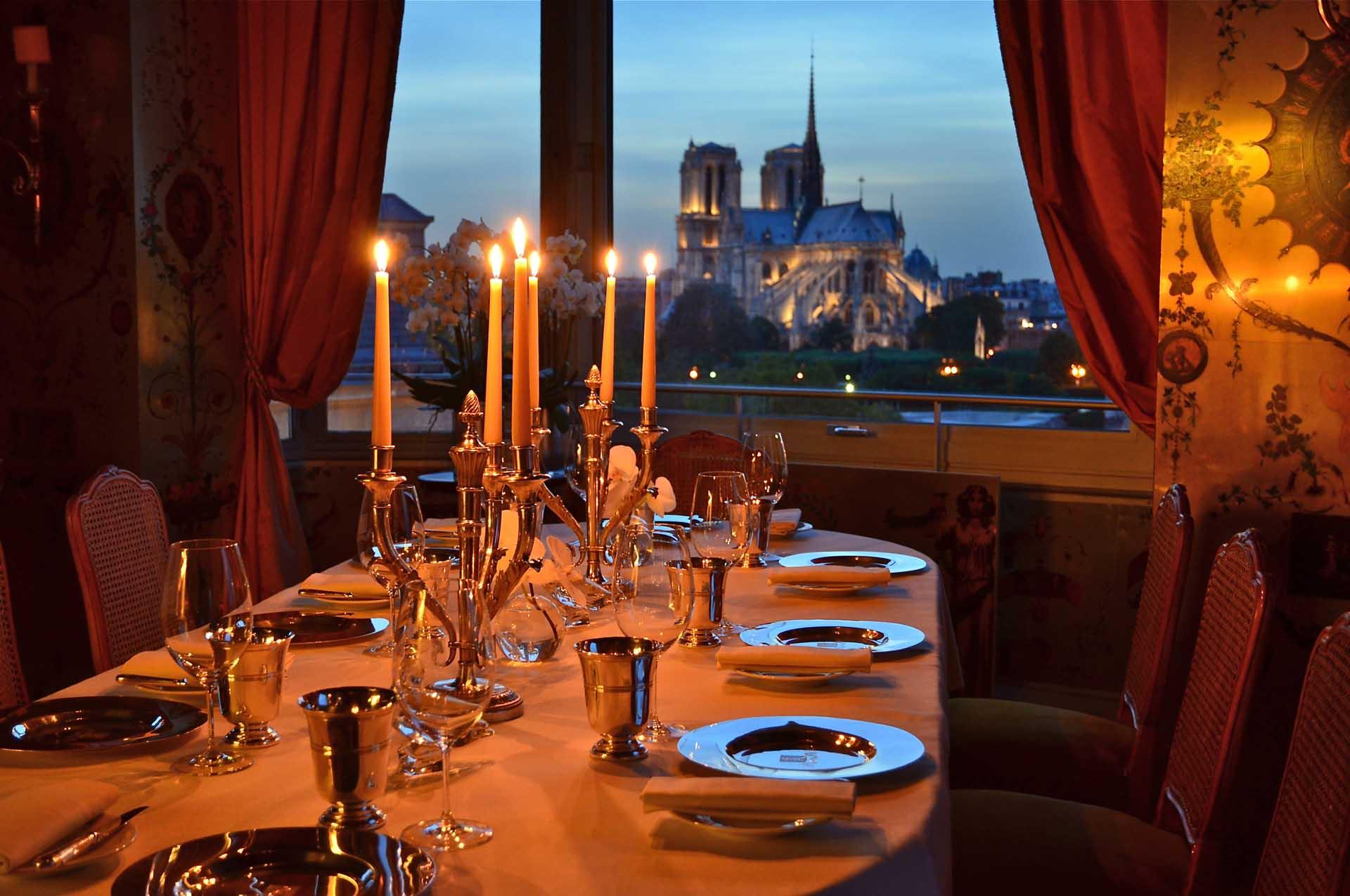 Menu Restaurant La Tour D Argent Paris