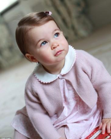 Premier anniversaire de Charlotte de Cambridge
