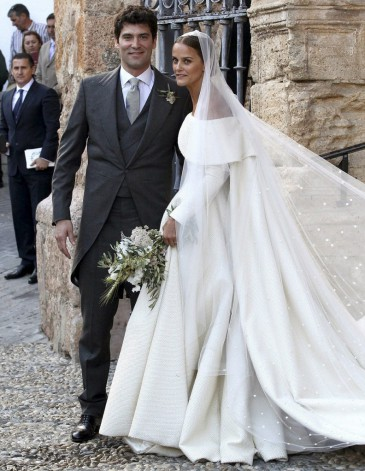 Mariage de la fille du duc de Wellington