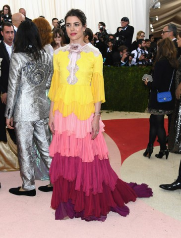Charlotte Casiraghi au Met Ball