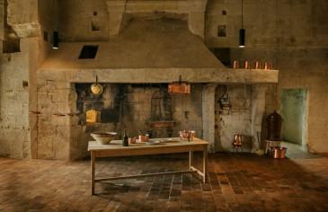 Ouverture des cuisines du château de Chambord au public