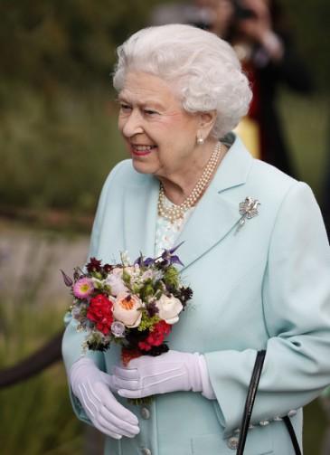 Elizabeth II au Chelsea Flower show