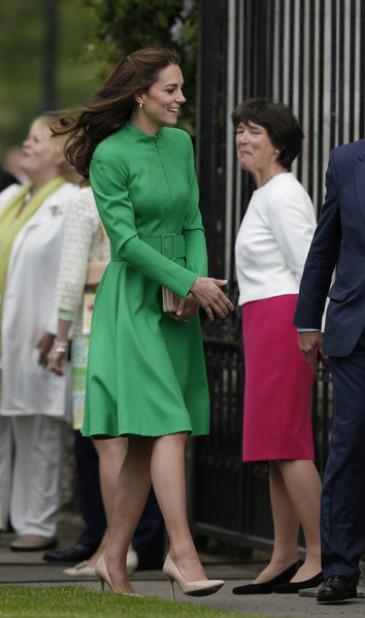 La famille royale britannique au Chelsea Flower show