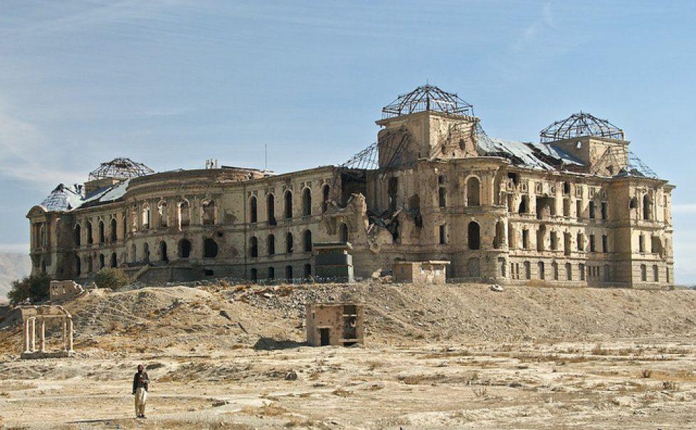 Darul Aman Darulaman Palace Kabul Afghanistan 1