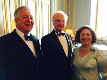 70 ans du roi de Suède : les invités du Gotha (suite)