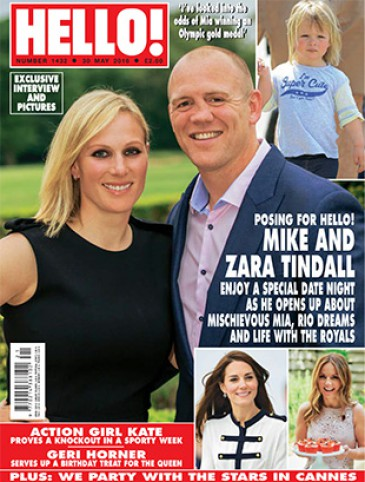 Zara Phillips à la Une de « Hello »