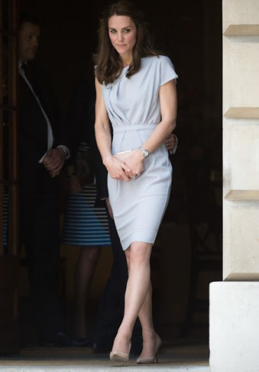 La duchesse de Cambridge à Spencer House