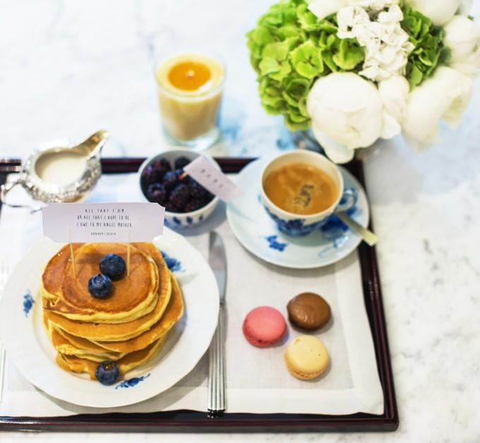 Un petit-déjeuner de «Fête des mères» pour Marie Chantal de Grèce
