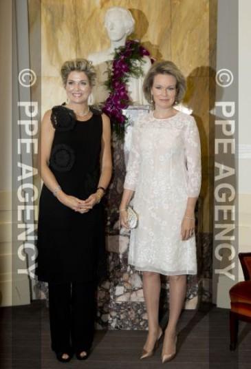 Mathilde et Maxima au concours reine Elisabeth