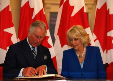 Charles et Camilla à la Canada House