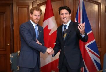 Le prince Harry à Toronto