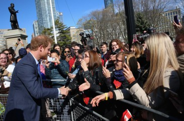 Harry : super star à Toronto