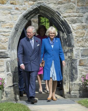 Charles et Camilla en Irlande