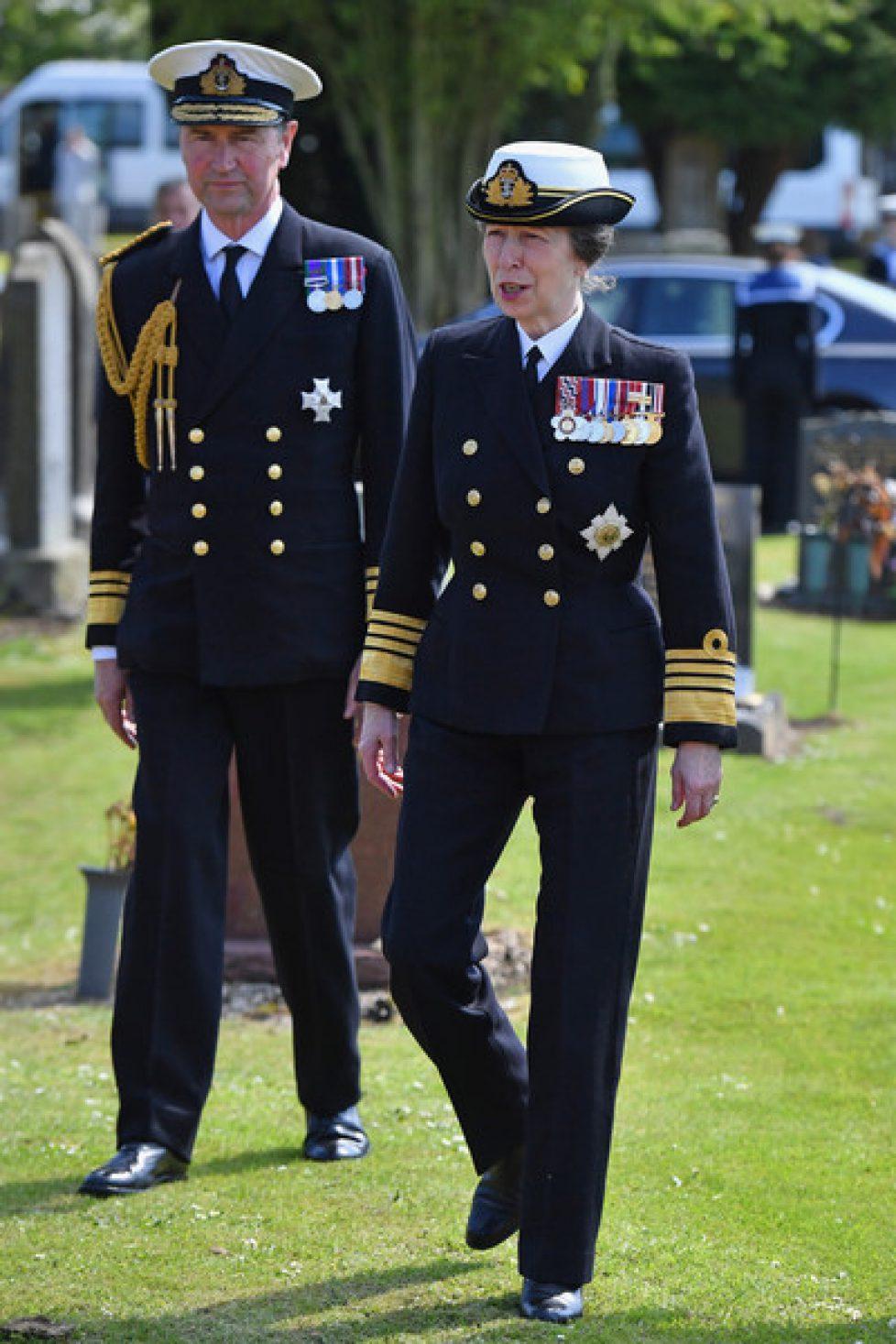 Princess+Anne+Leads+Battle+Jutland+Centenary+uihjkbZHUAvl