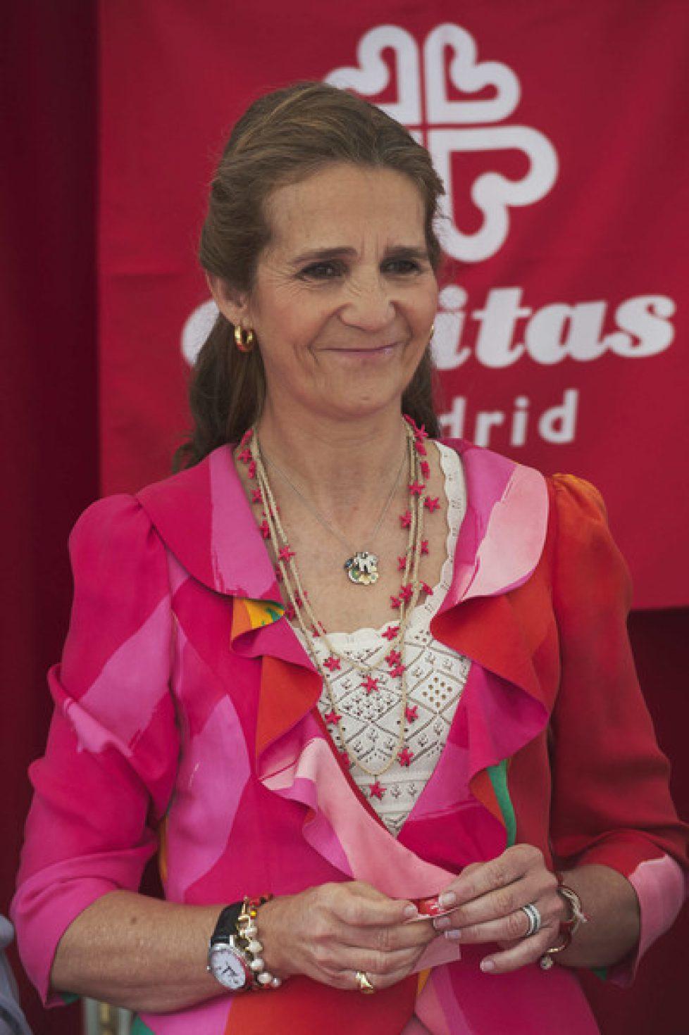 Princess+Elena+Attends+Dia+de+La+Caridad+Madrid+IGqufIBi5V5l