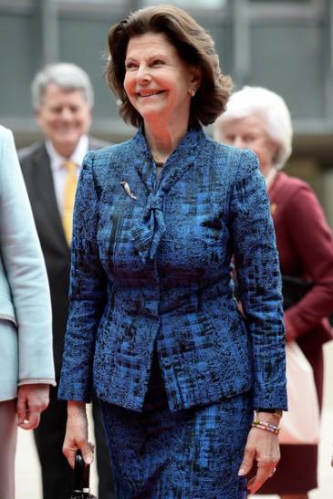 La reine de Suède à Dusseldorf