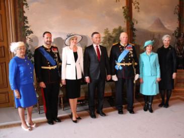 Visite d'Etat du président polonais en Norvège