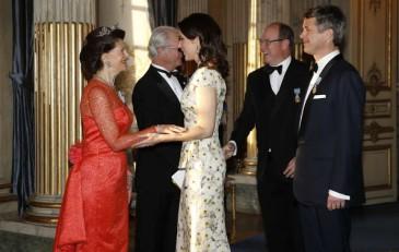 Menu du dîner d'anniversaire du roi de Suède