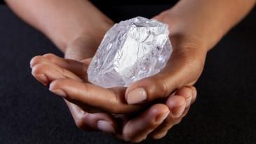 Le plus gros diamant brut au monde
