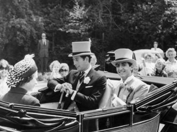 Archives : le prince Reza d'Iran à Ascot