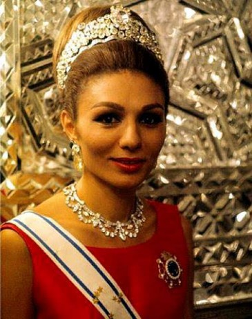 Farah d'Iran en 1967