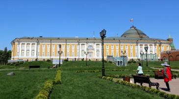 Le Palais du Sénat du Kremlin