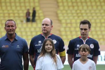 Albert de Monaco : soirée football