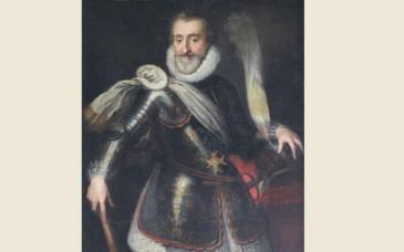 Vente d'un portrait du roi Henri IV