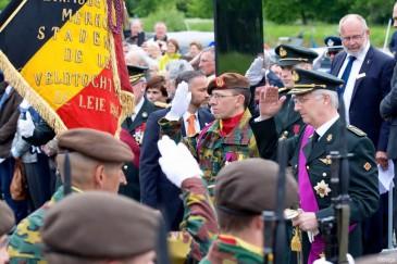 Le roi Philippe commémore la Bataille de la Lys